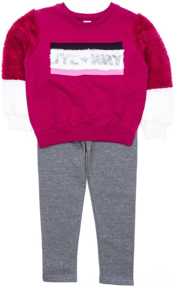 Joyce παιδικό σετ μπλούζα-παντελόνι κολάν «My Way»