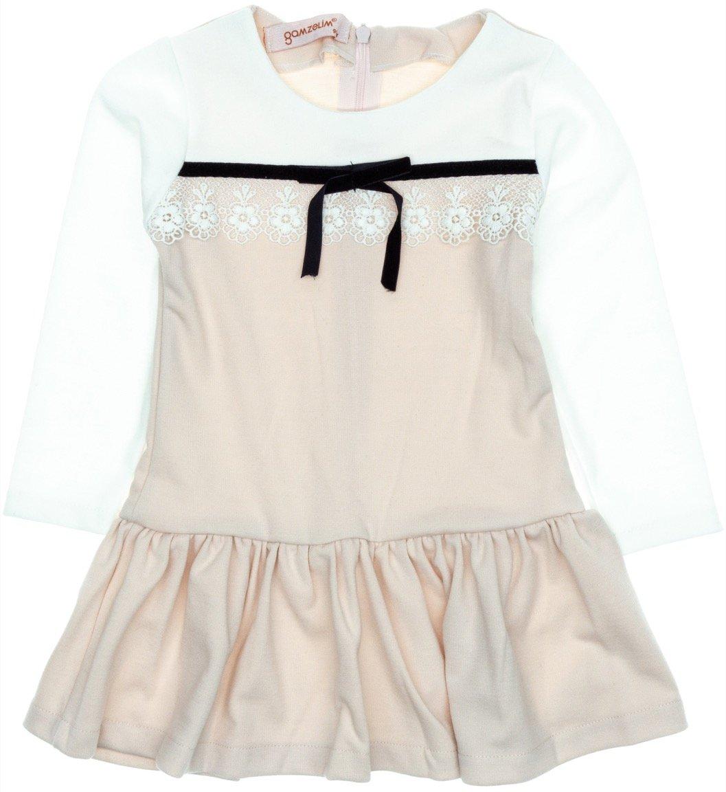 Gamzelim παιδικό φόρεμα «Lace and Bow»