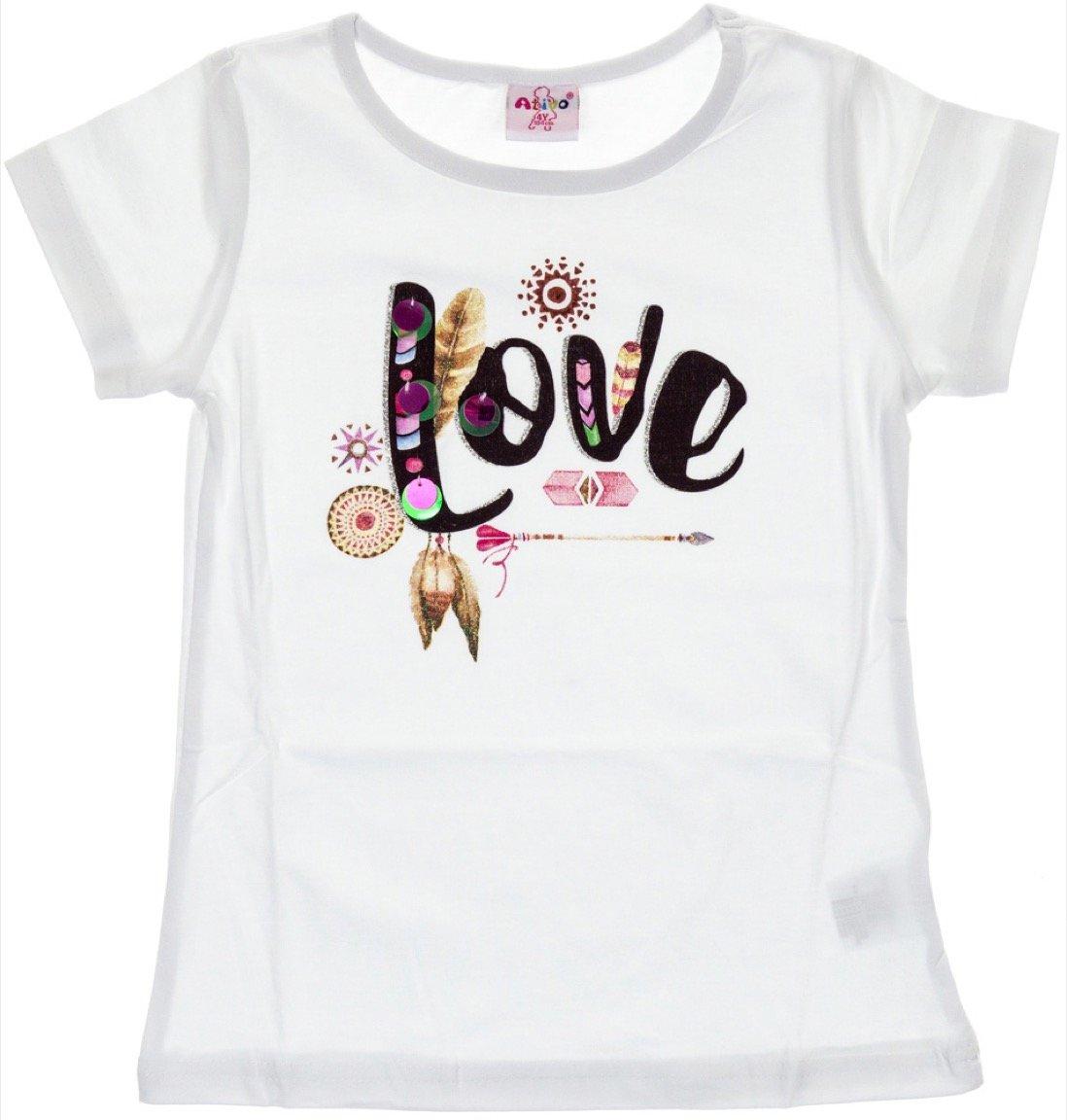 Ativo παιδική μπλούζα «Love»