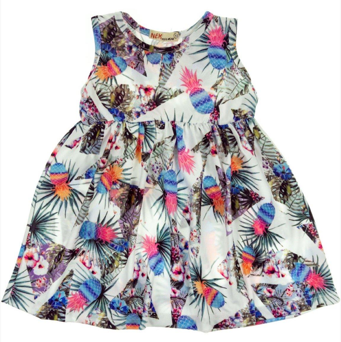 Nek παιδικό φόρεμα «Pineapples»