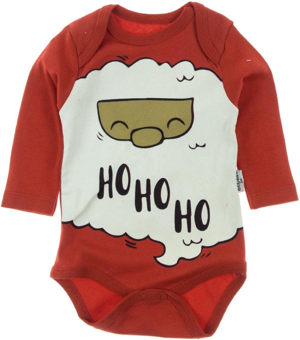 Necix's βρεφικό κορμάκι «Ho Ho Ho Santa»