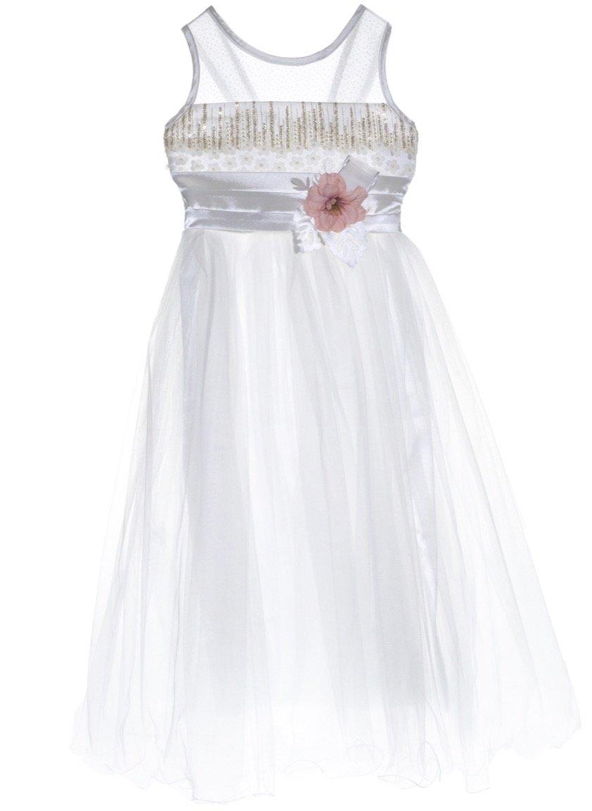 Ken Club παιδικό αμπιγιέ φόρεμα «Begonia»
