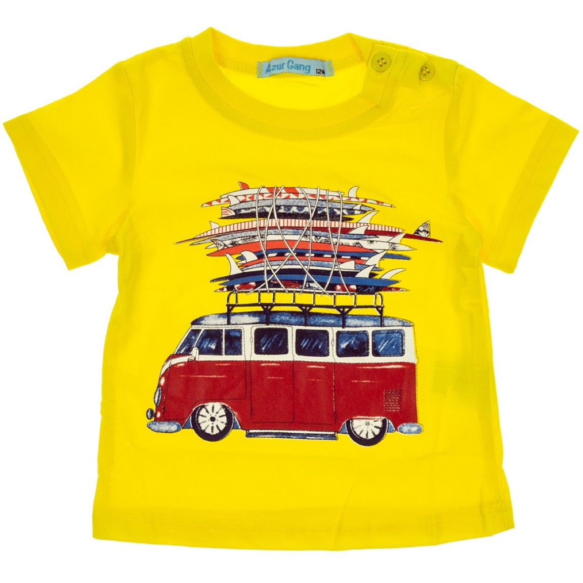 Azur Gang παιδική μπλούζα «Yellow Bus»