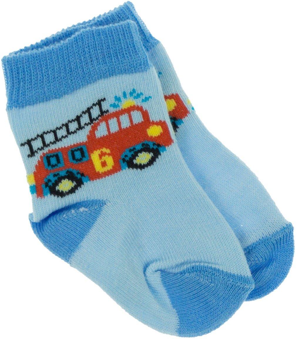 Alara παιδικές κάλτσες «Fire Truck Blue»