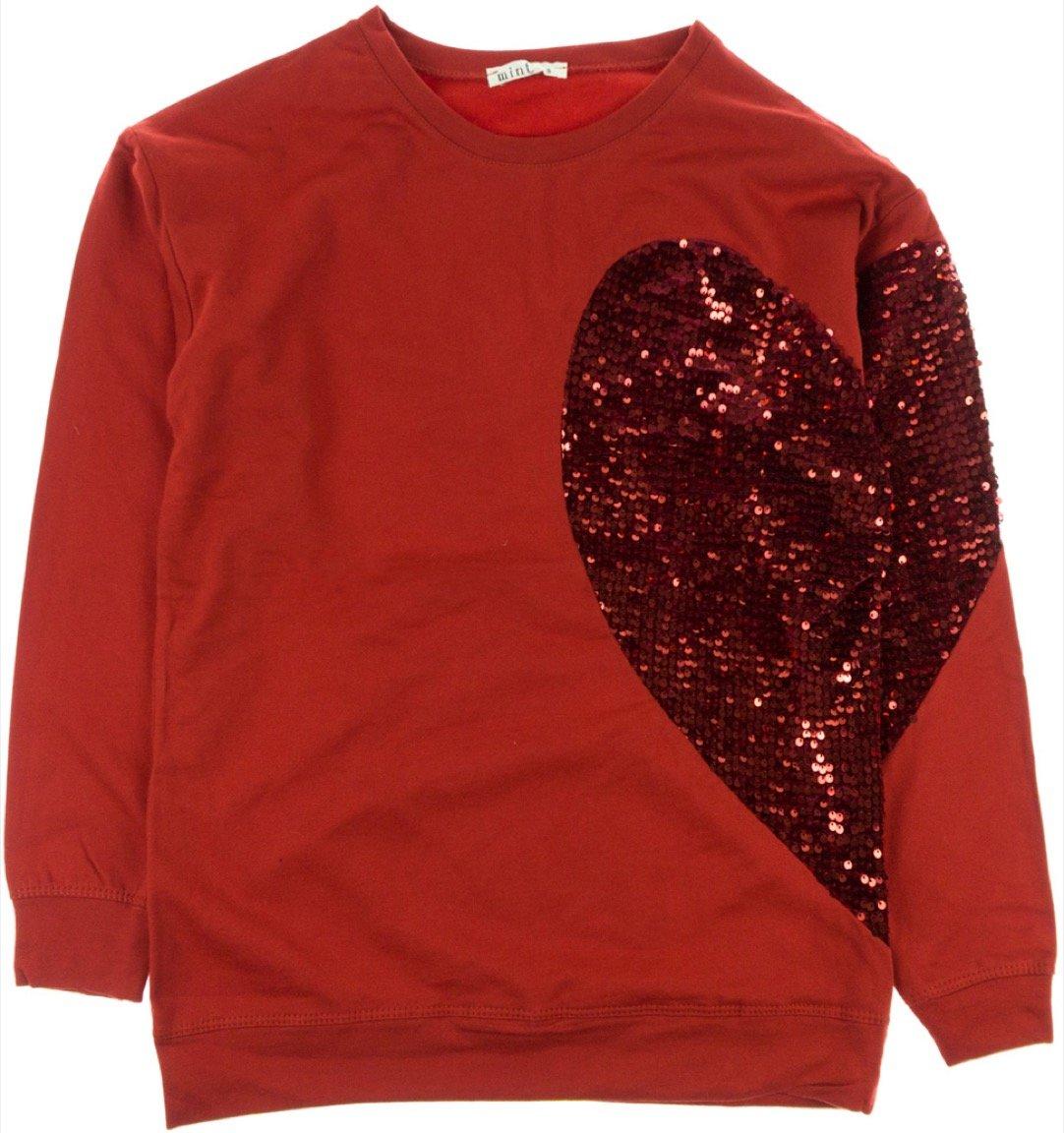 Mint γυναικεία μπλούζα «Red Heart»