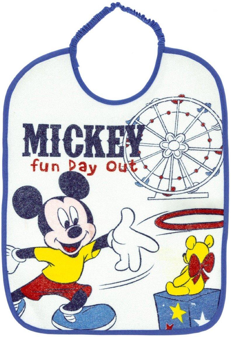 Disney βρεφική σαλιάρα φαγητού «Blue Fun Day»