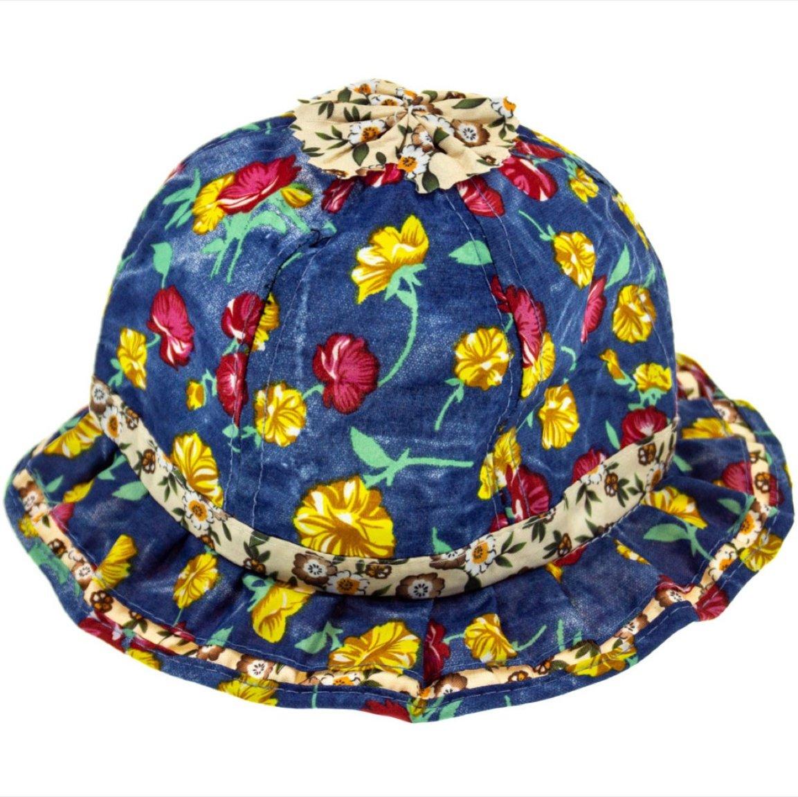 Georgia Accessories παιδικό καπέλο «Flowery Garden»