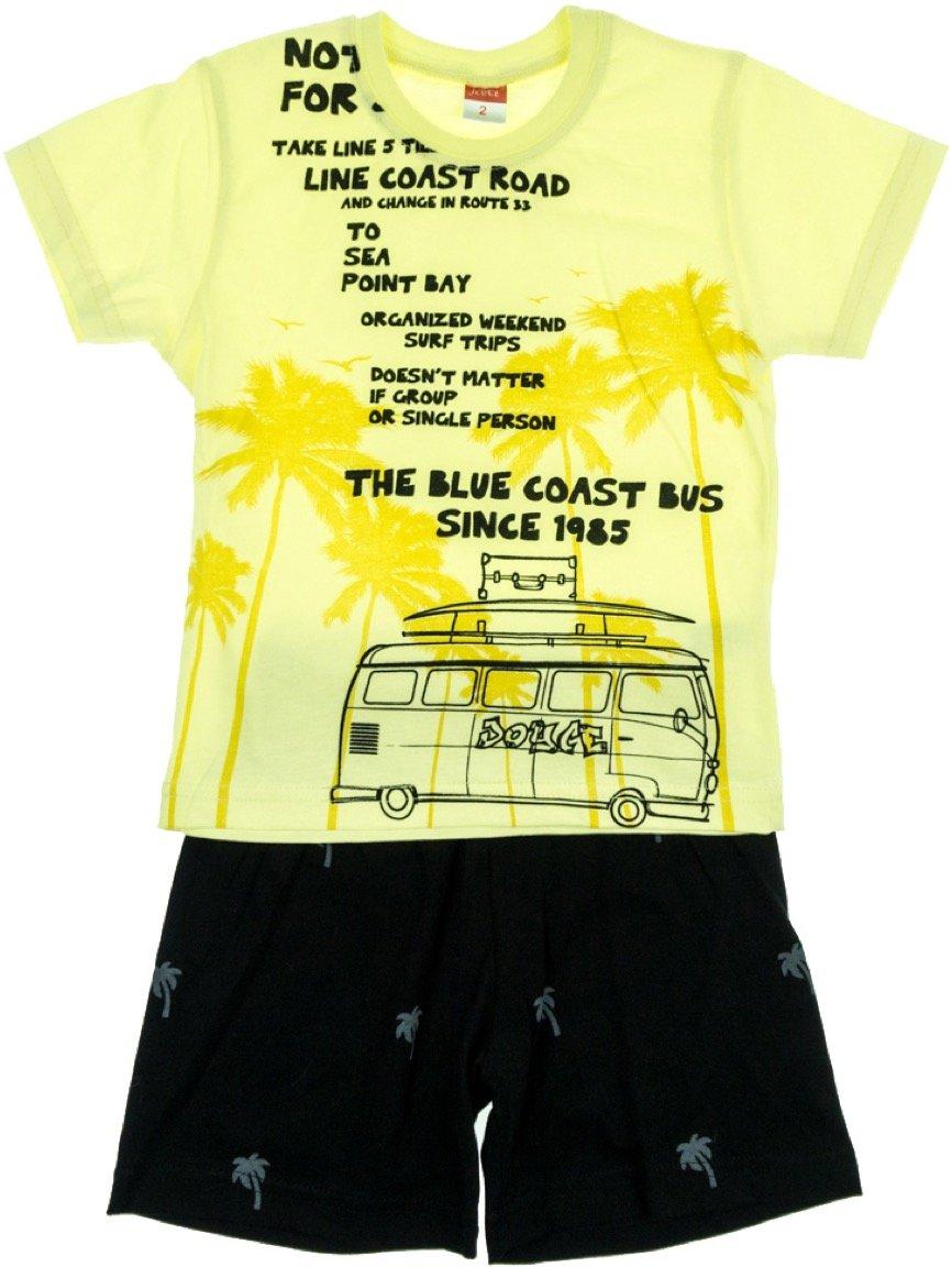 Joyce παιδικό σετ μπλούζα-παντελόνι σορτς «Coast Bus»