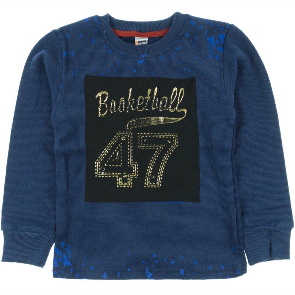 Waxmen παιδική μπλούζα «Blue Basketball»