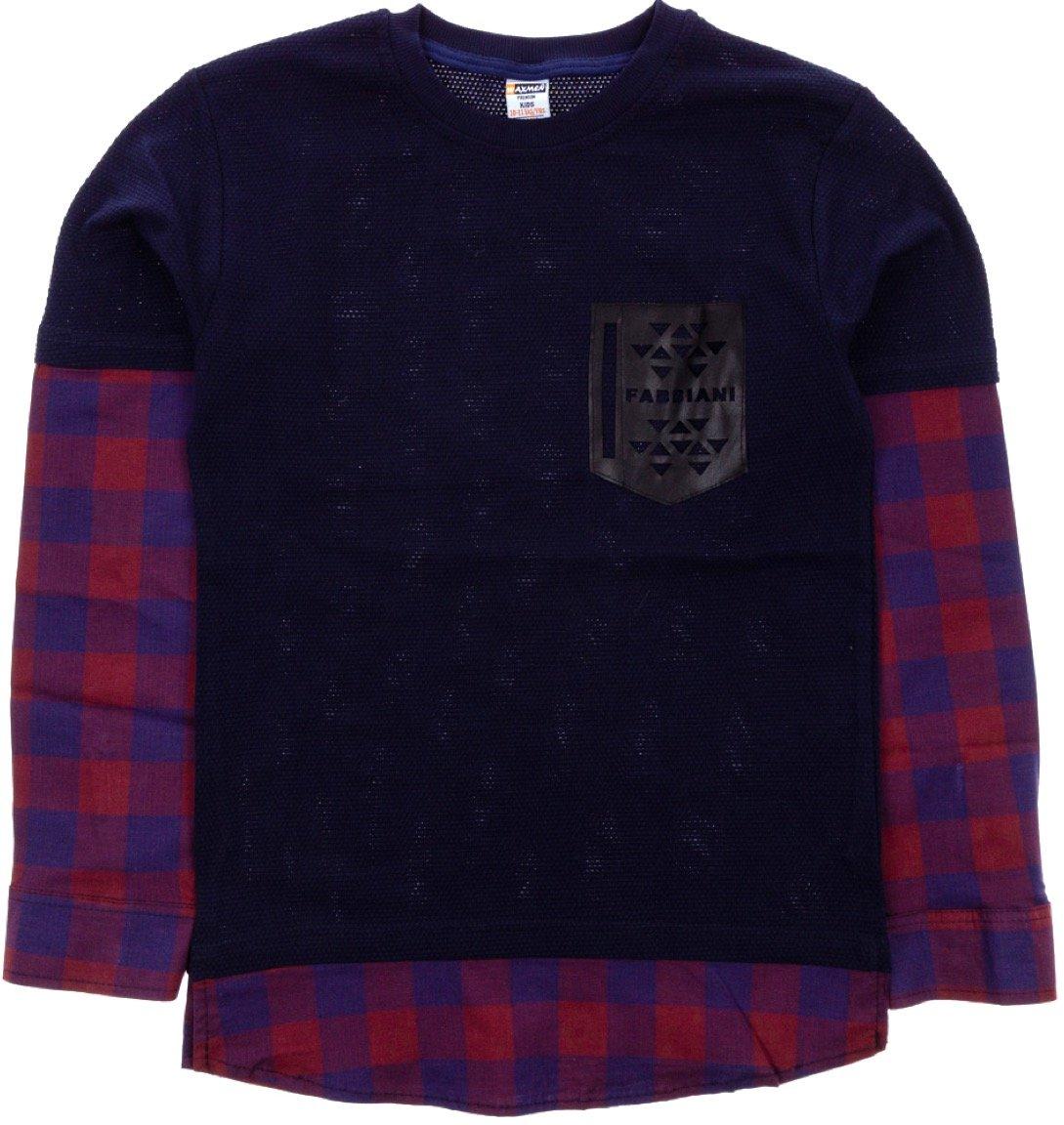 Waxmen παιδική εποχιακή μπλούζα «Blue Fabbiani»