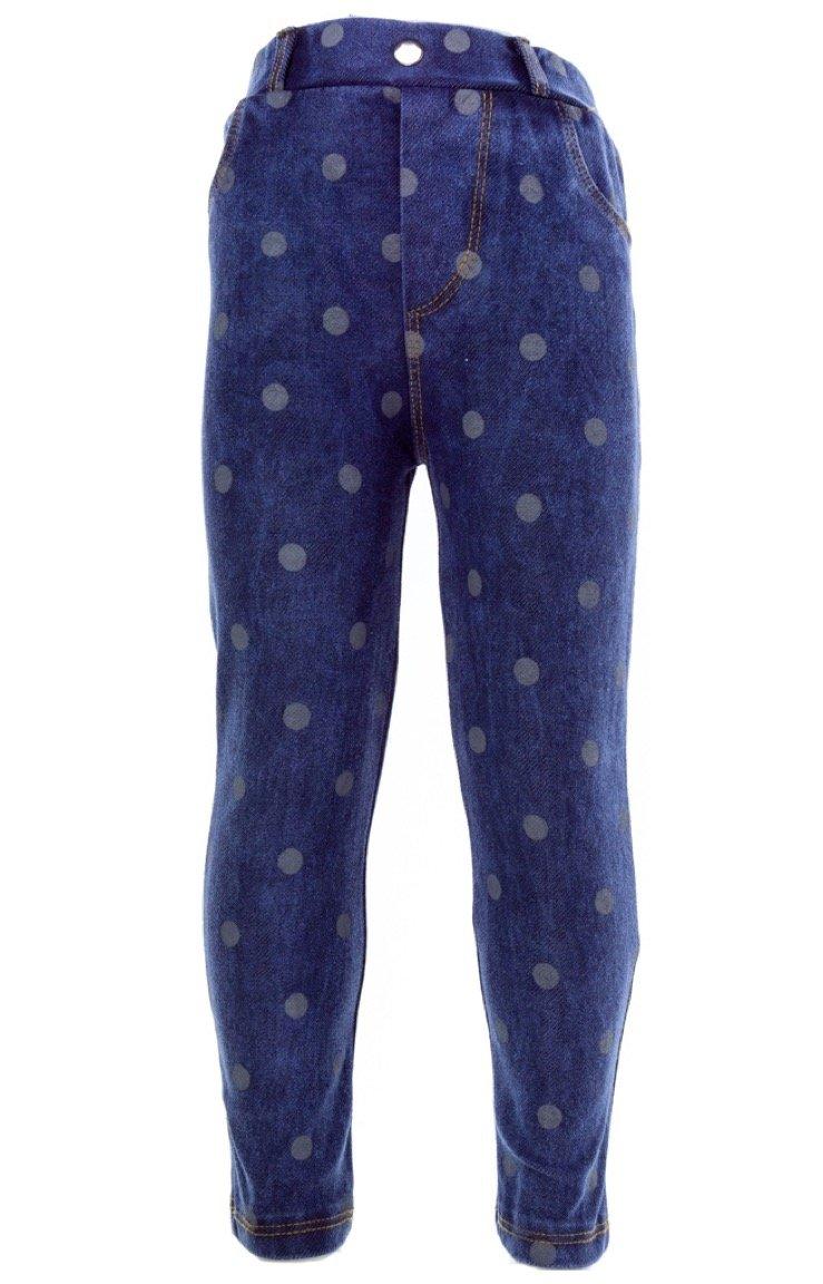 Next παιδικό εποχιακό παντελόνι κολάν τζιν «Denim Spotty»