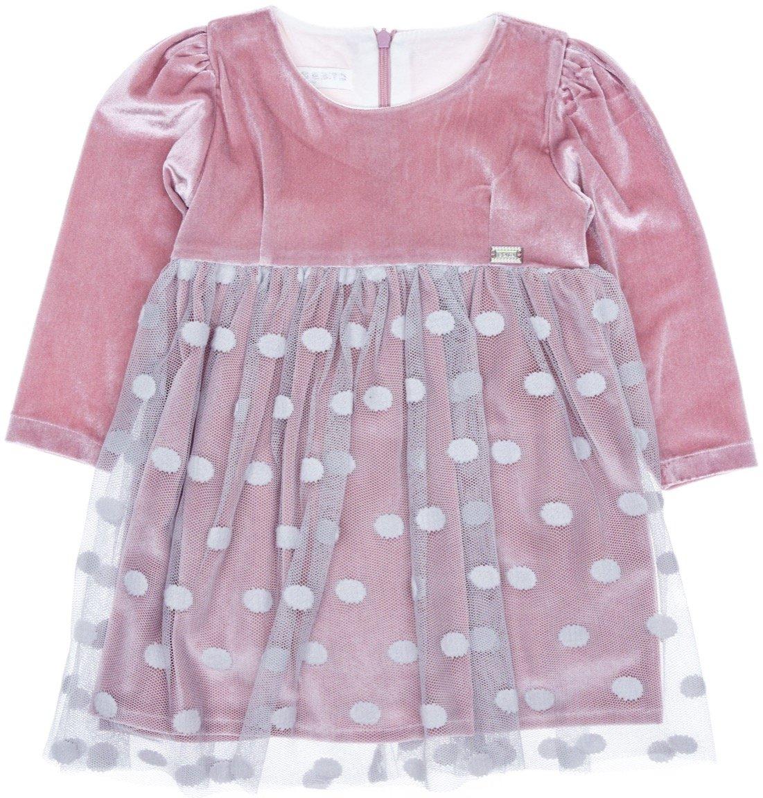 Εβίτα παιδικό αμπιγιέ βελουτέ φόρεμα «Dancer»