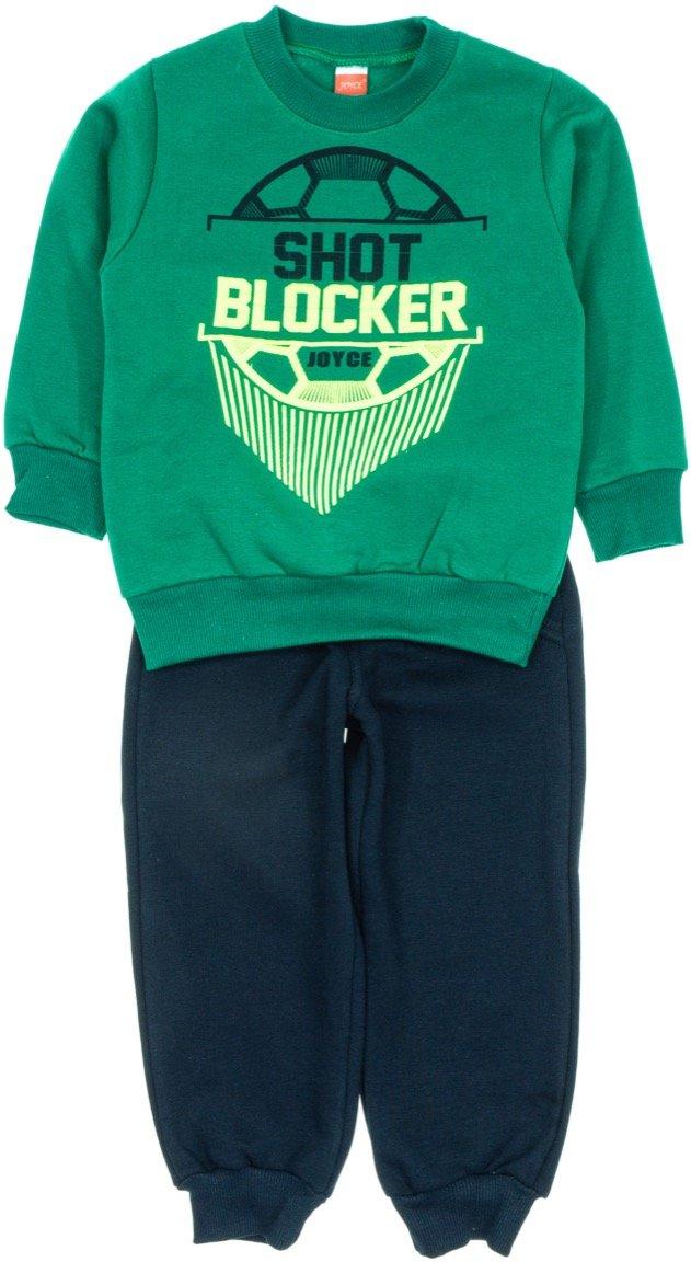 Joyce παιδικό σετ φόρμα μπλούζα-παντελόνι «Great Shot Blocker»
