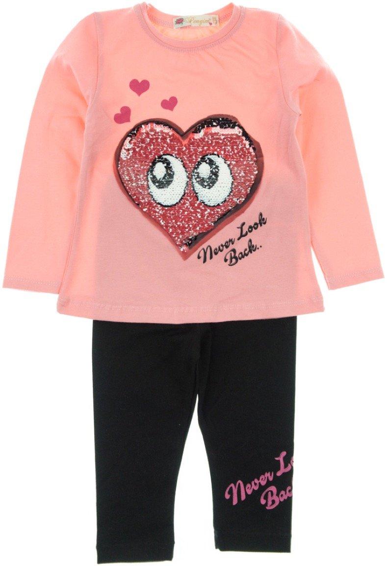 Pengim παιδικό εποχιακό σετ μπλούζα-παντελόνι κολάν «Smart Eyes»