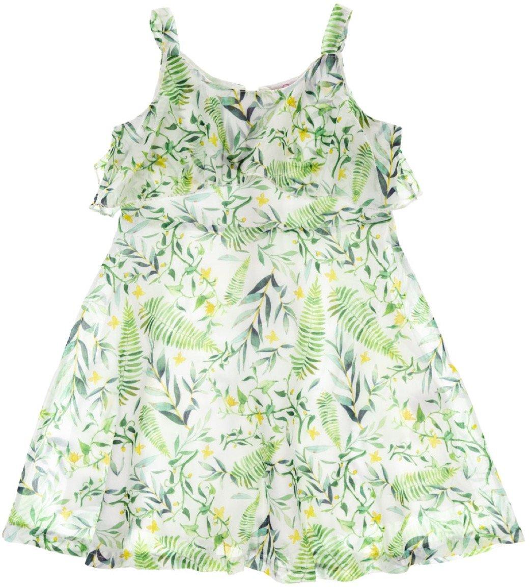 Ativo παιδικό φόρεμα «Green Leafs»