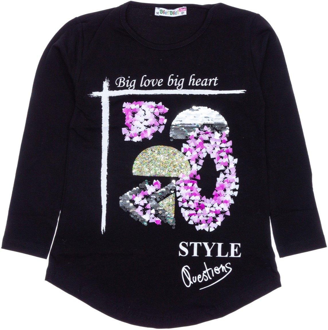 Bici Bici παιδική εποχιακή μπλούζα «Big Love»