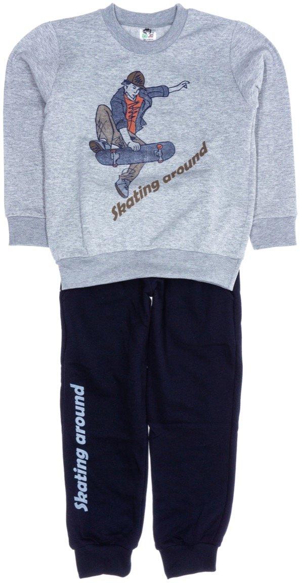 Go Jo παιδικό σετ φόρμα μπλούζα-παντελόνι «Skating Around»