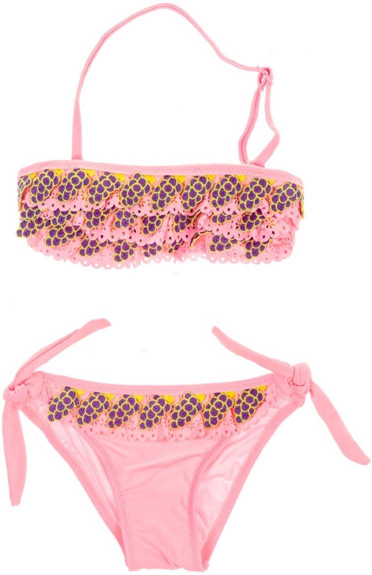 Hello Bikini παιδικό μαγιό μπικίνι «Pink Grapes»