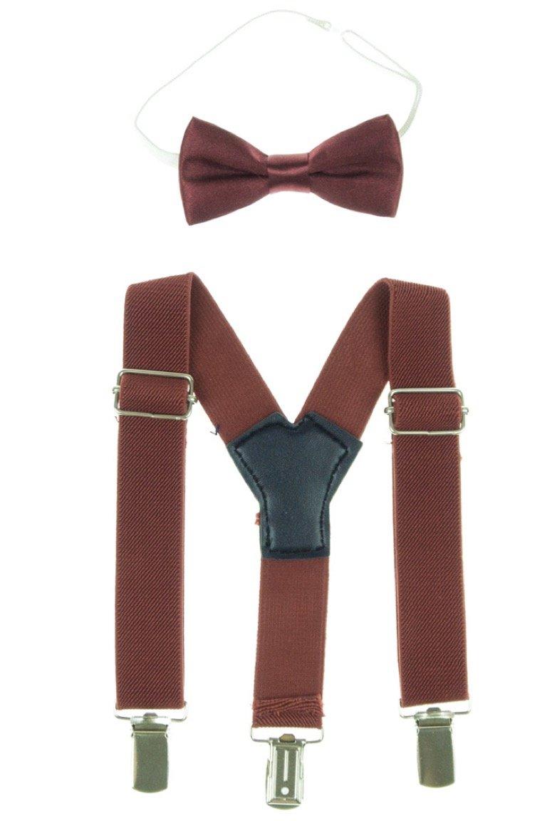 Jr. Gentleman παιδικό σετ τιράντες & παπιγιόν «Bordo Class»