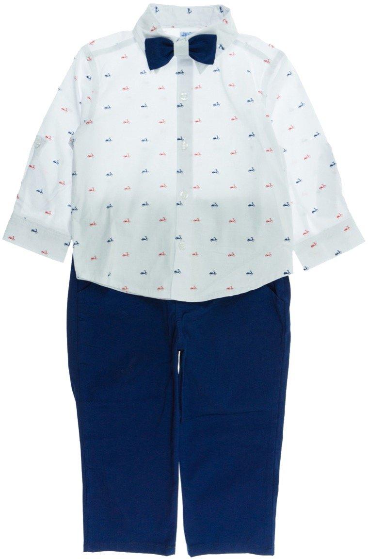"All Stars παιδικό εποχιακό αμπιγιέ σετ πουκάμισο-παντελόνι ""La Dolce Vita"""