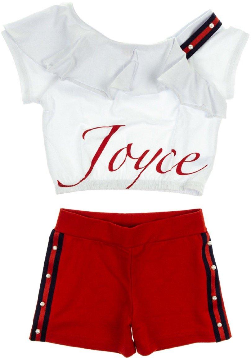 Joyce παιδικό σετ μπουστάκι-παντελόνι σορτς «A Chic»