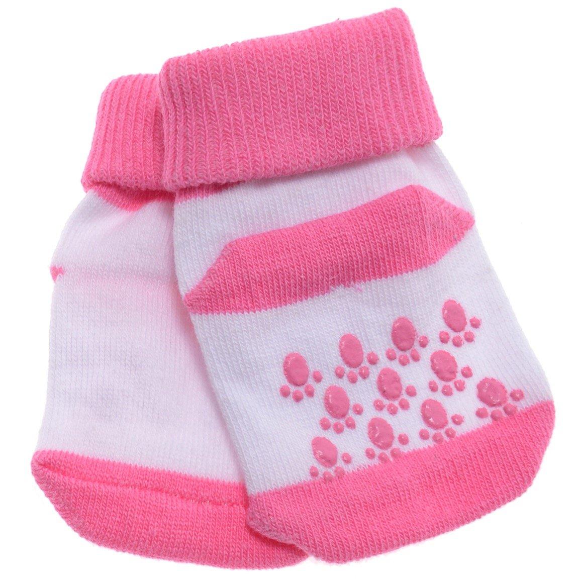 Akface βρεφικές κάλτσες «Fuchsia Steps»