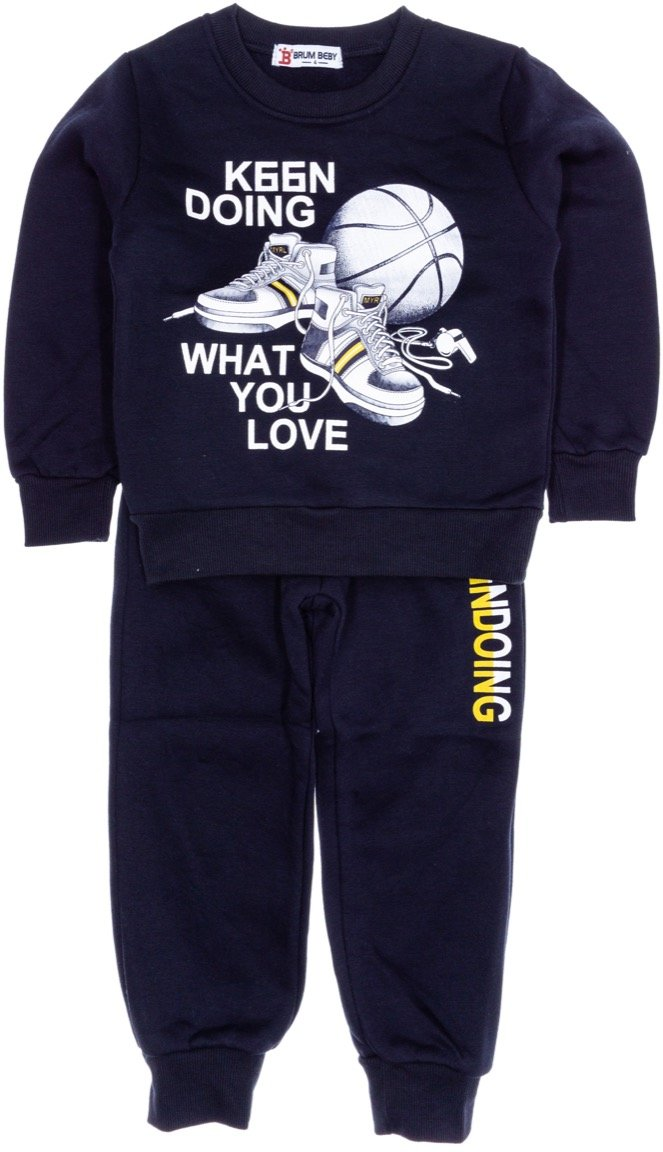 Brum παιδικό σετ φόρμα μπλούζα-παντελόνι «Doing»