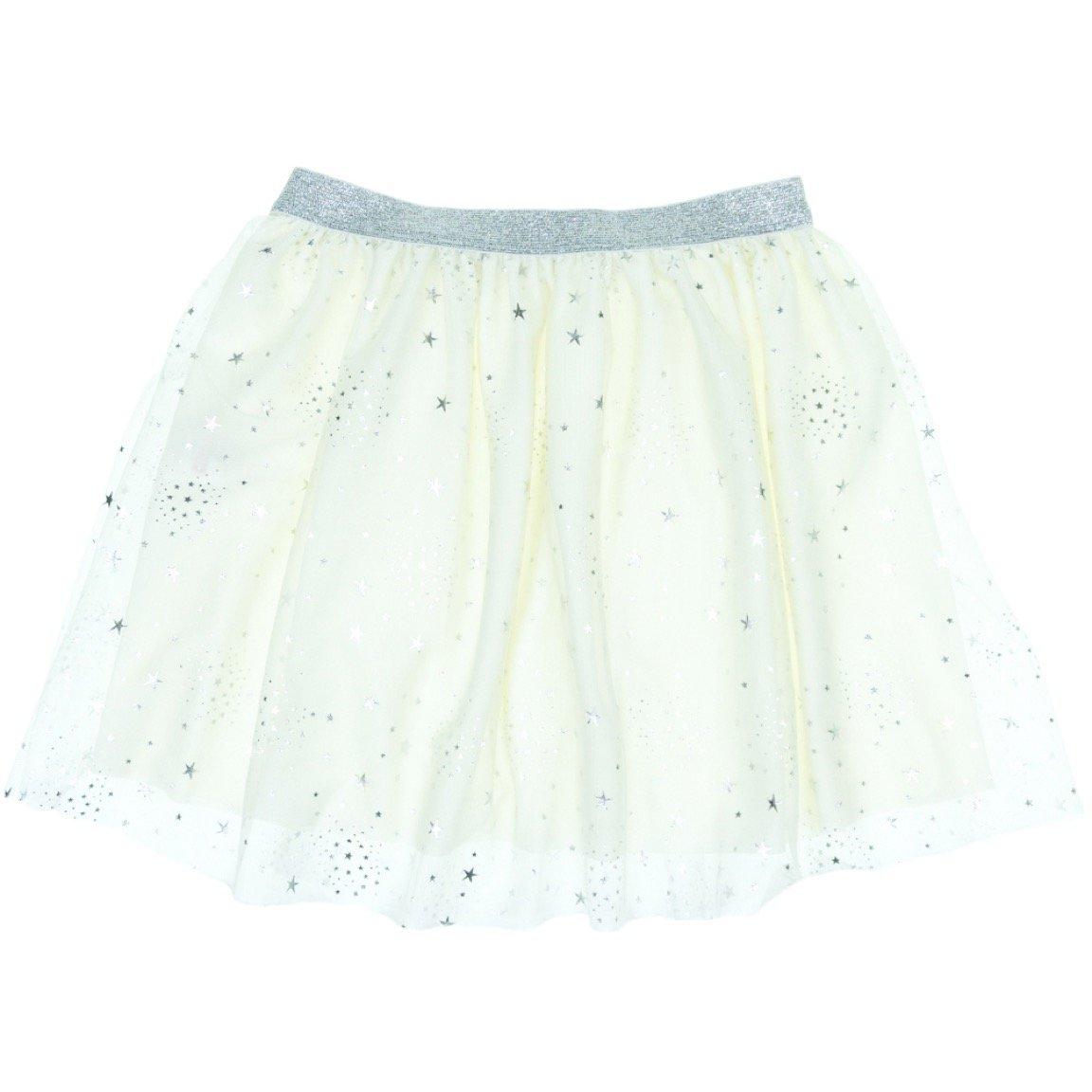 Mini Citlenbik παιδική φούστα τουτου «Ecru Stars»