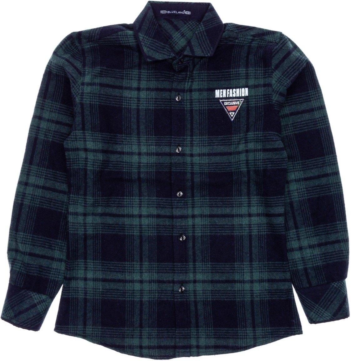 Blueland παιδικό πουκάμισο «Green Limited Edition»
