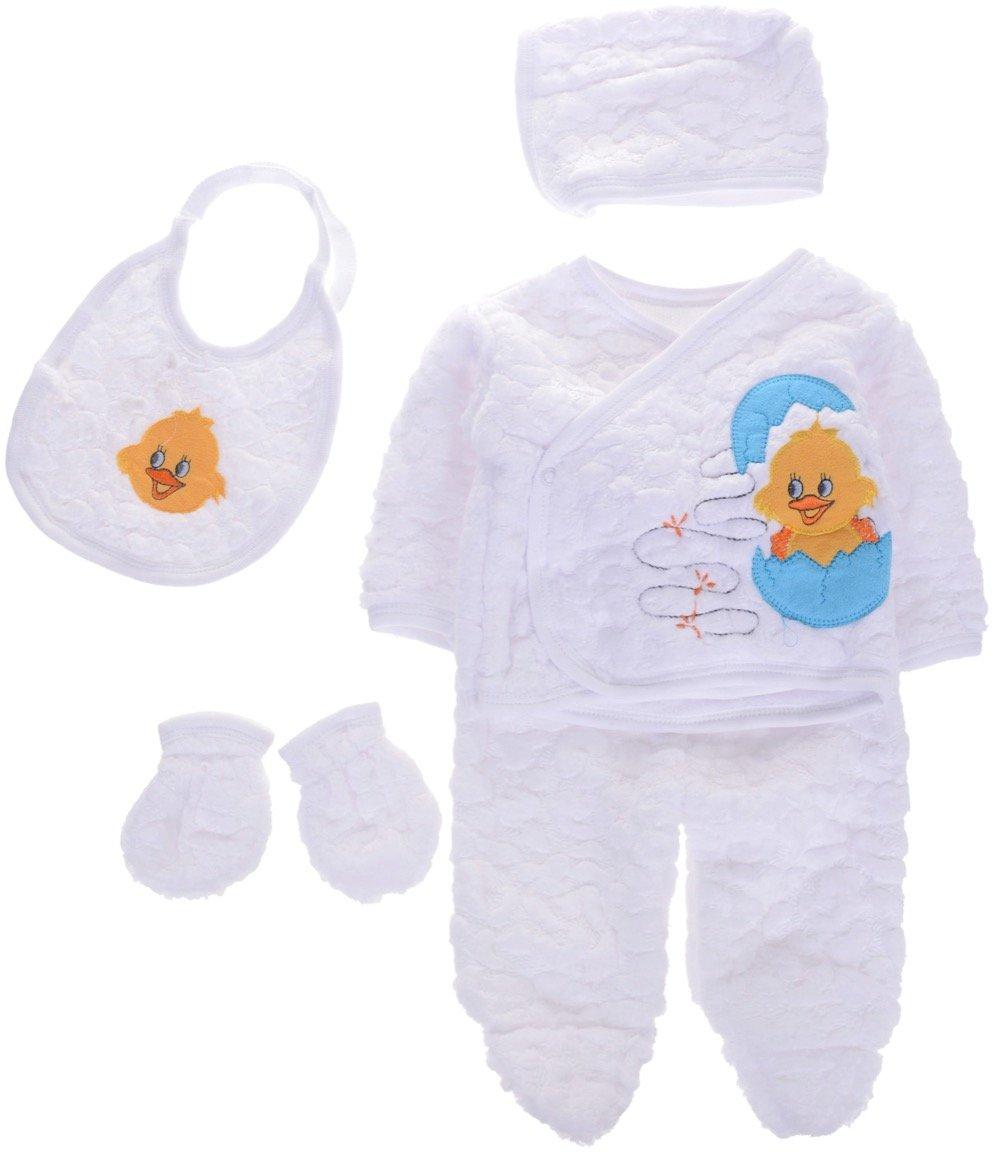 Melisa παιδικό σετ δώρου πέντε τεμαχίων «Baby Duck»