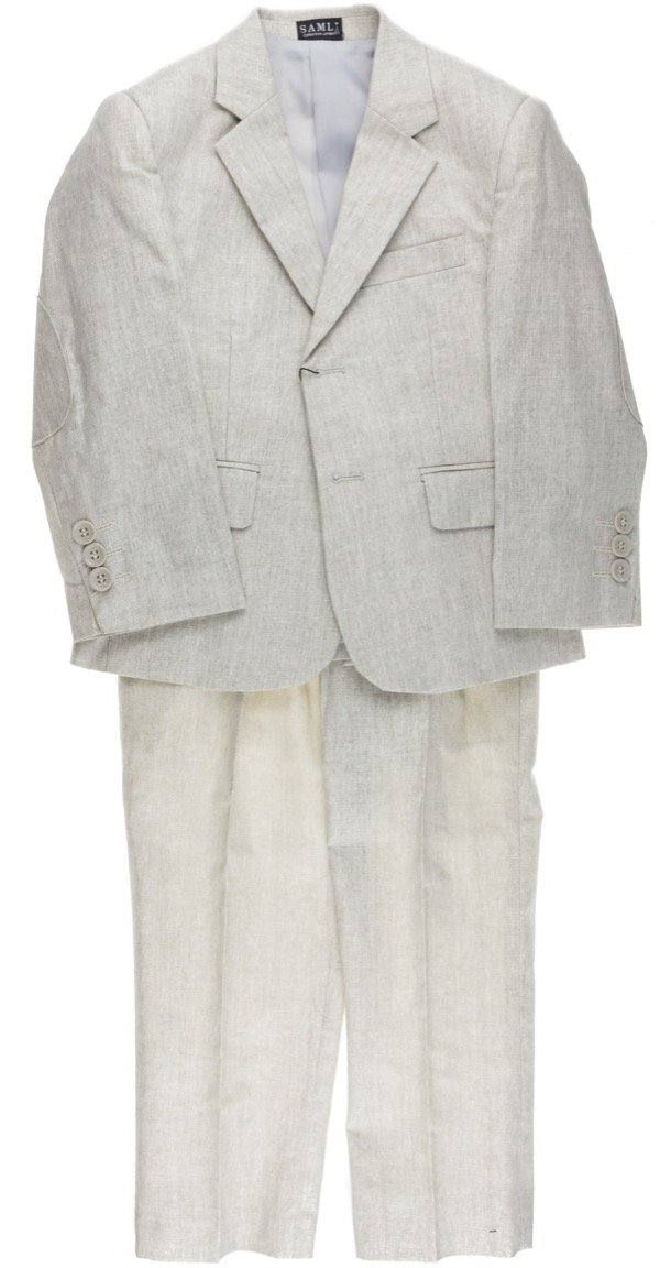 Samli παιδικό αμπιγιέ λινό κοστούμι «Pledge»
