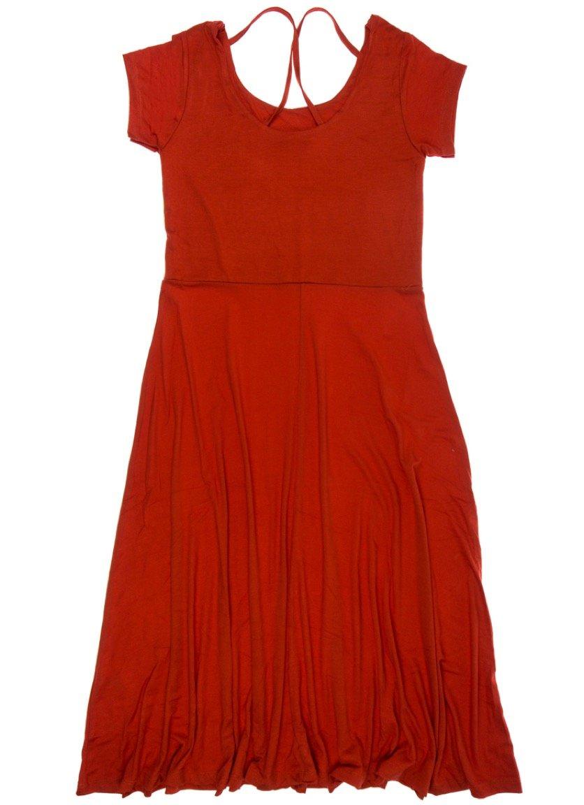 Adyes γυναικείο φόρεμα «Pure Red»