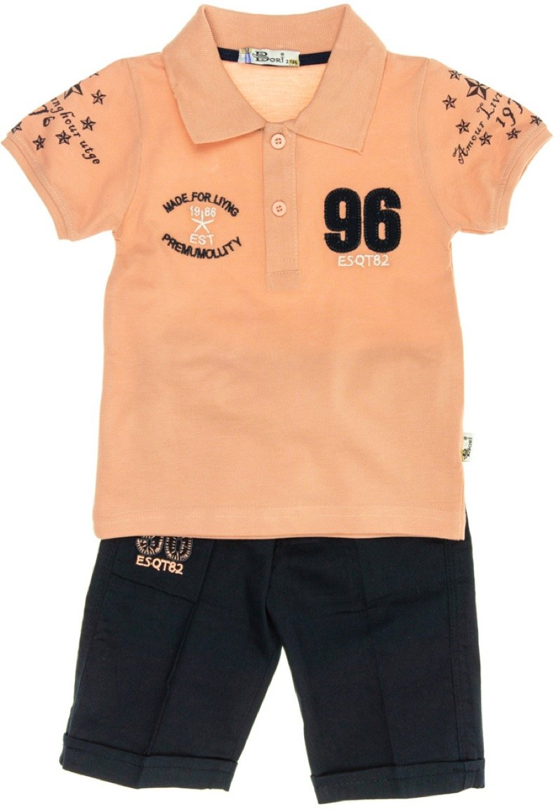Bori παιδικό σετ μπλούζα-παντελόνι «Summer in Fashion»