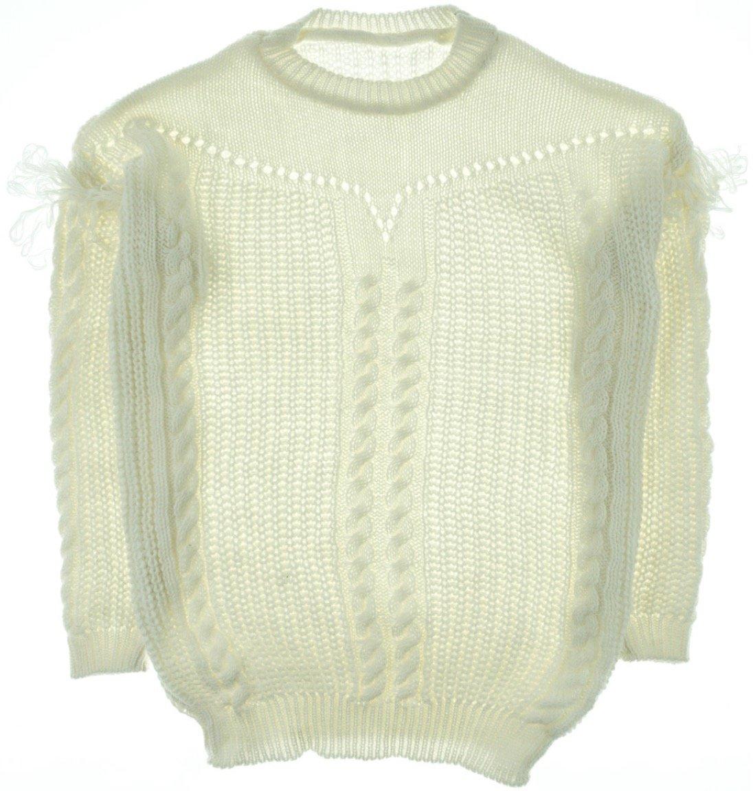 ΑΖ γυναικεία πλεκτή μπλούζα «Ecru Knitting»
