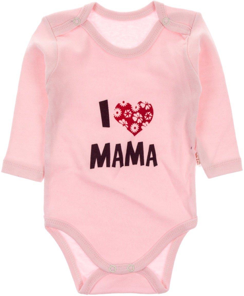 Pabbuc βρεφικό κορμάκι «I Love my Mama»
