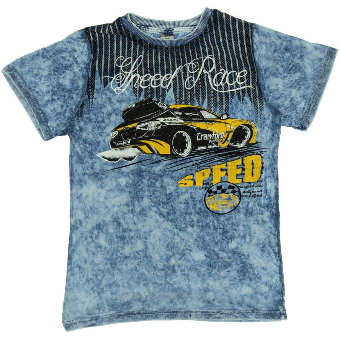 Waxmen παιδική μπλούζα «Blue Speed»