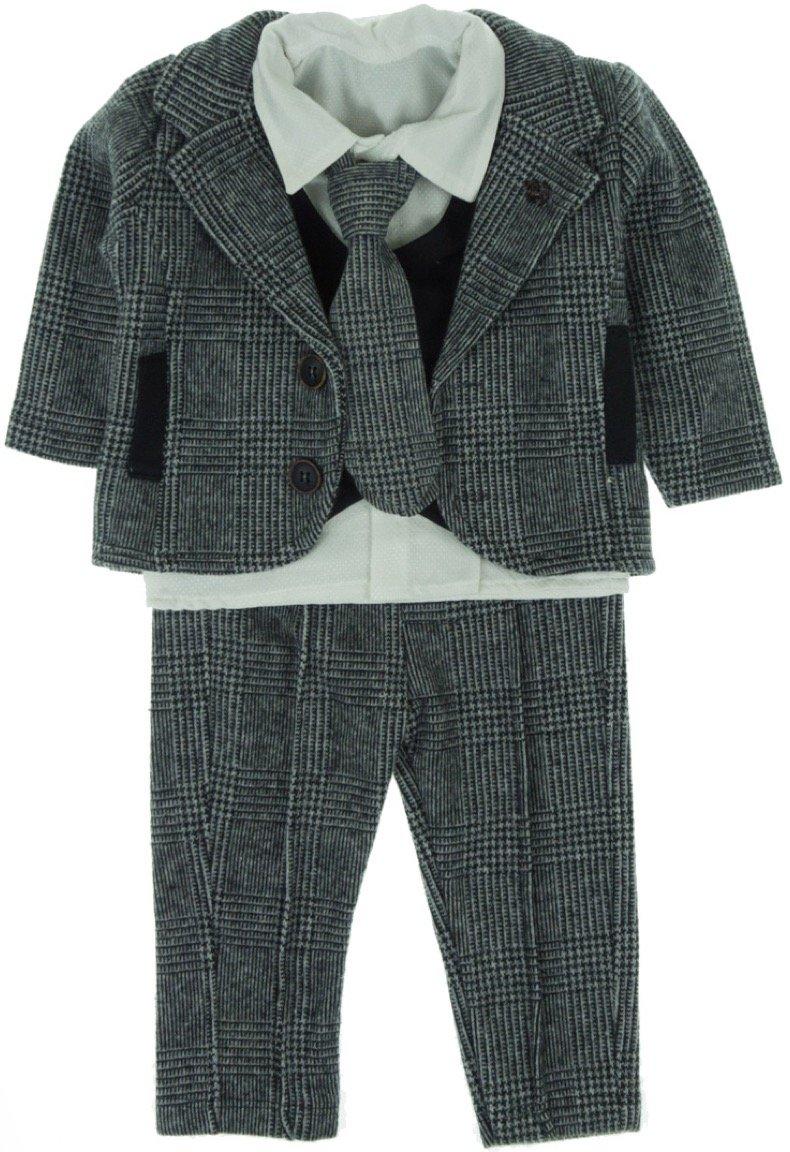 Hippil βρεφικό αμπιγιέ κοστούμι «Little Tie»