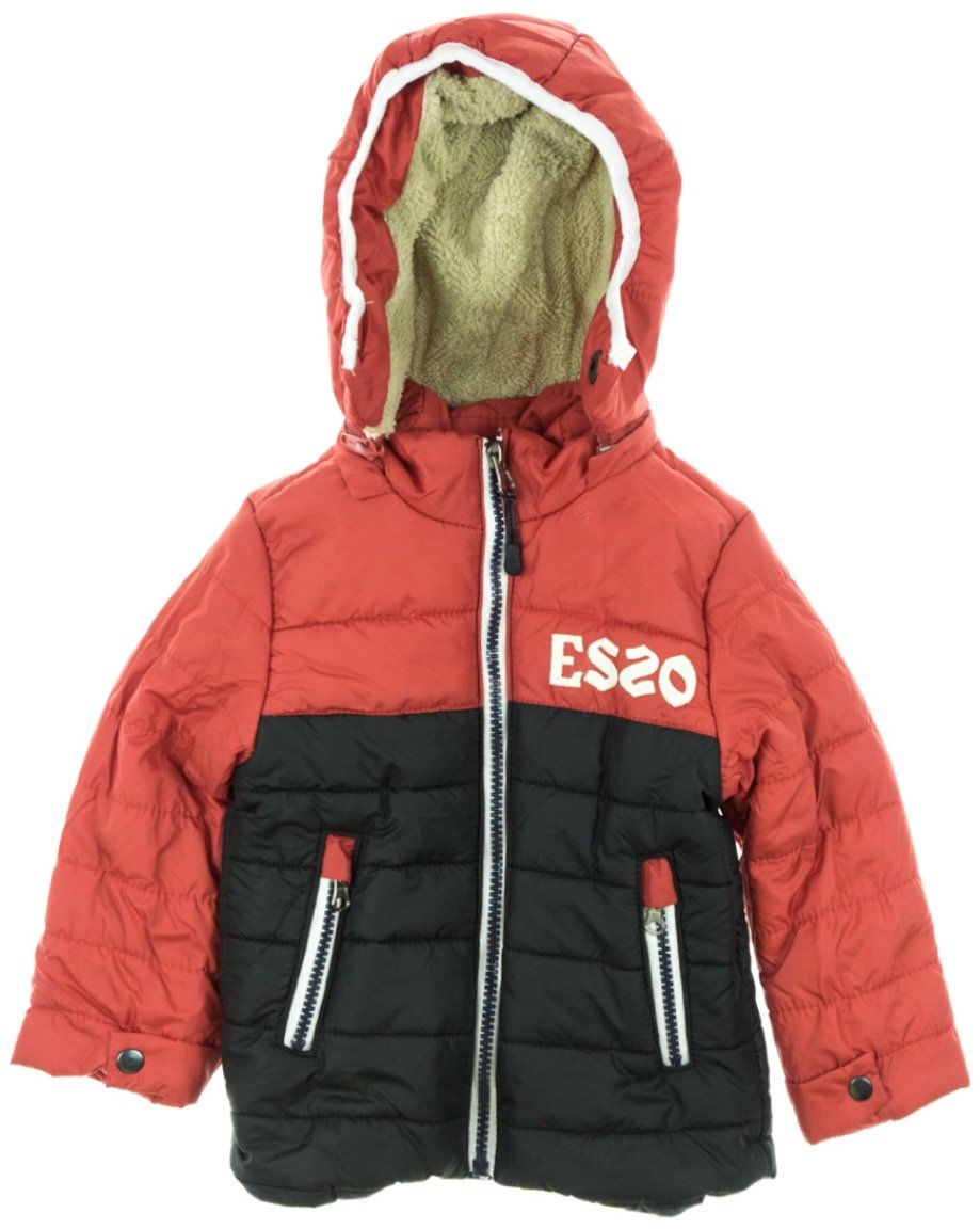Esso παιδικό μπουφάν «Red & Black»