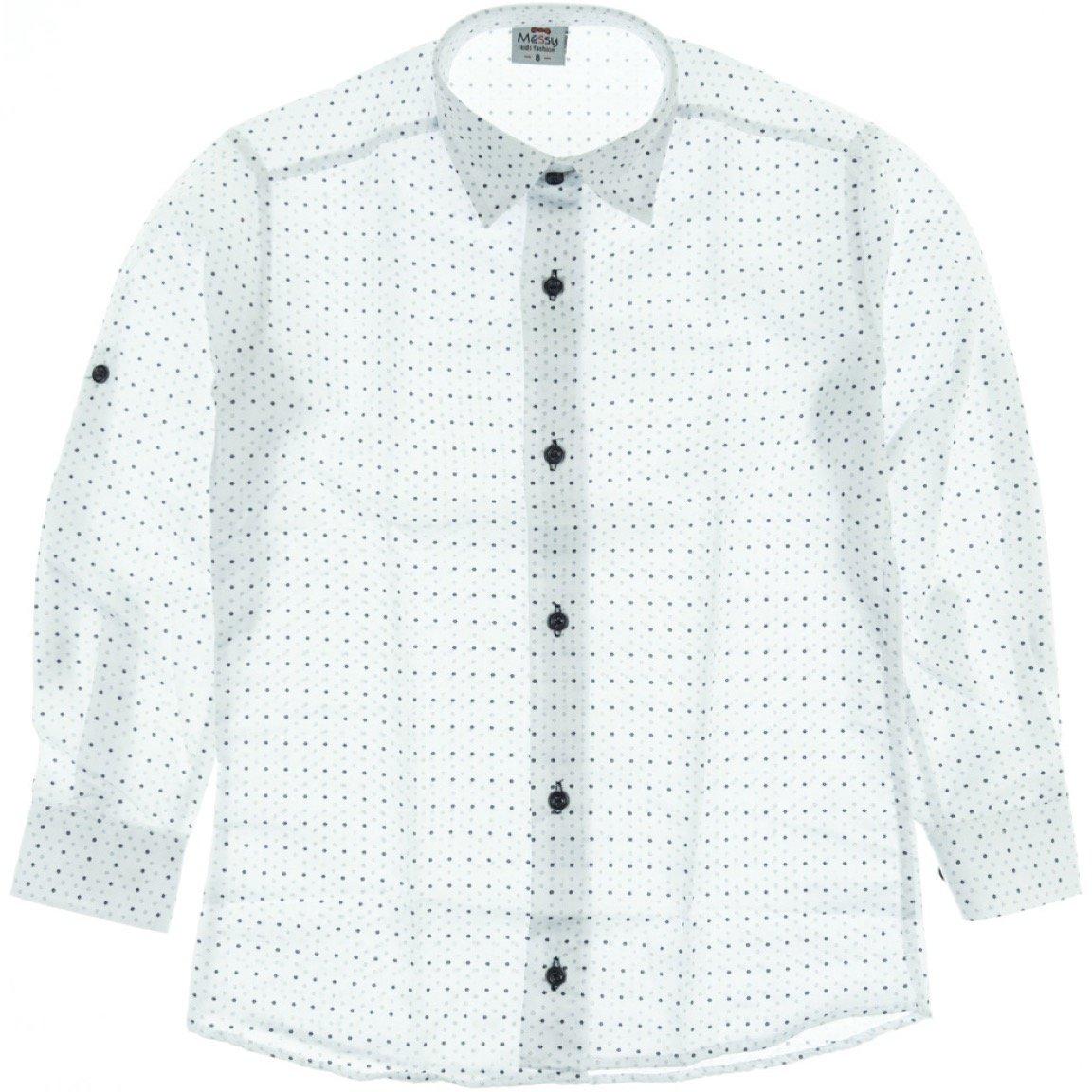 Messy παιδικό πουκάμισο «Mister Genius»