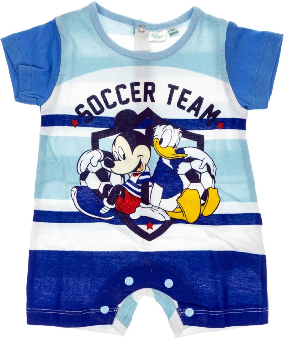 Disney βρεφικό φορμάκι «Soccer Team»