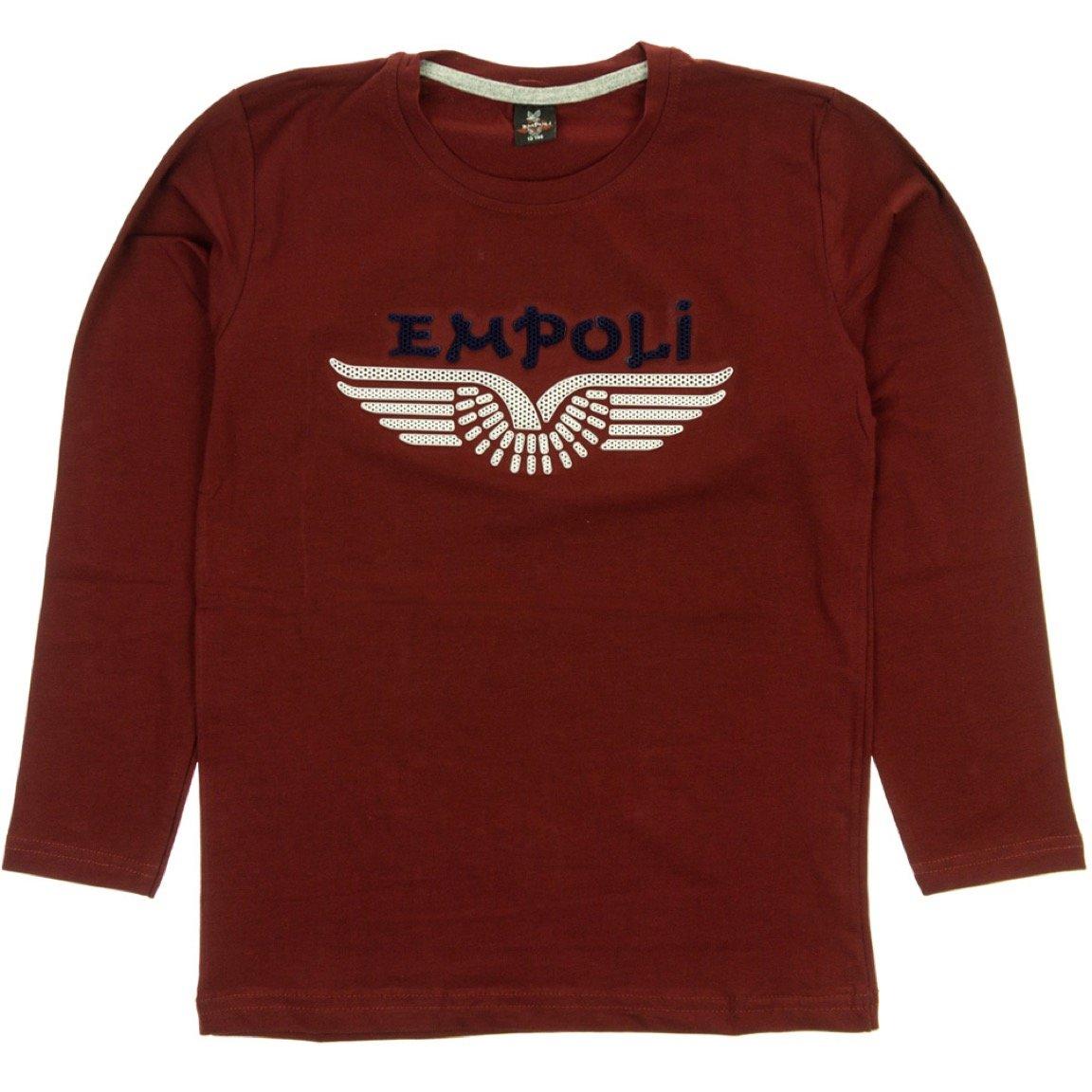 Empoli παιδική εποχιακή μπλούζα «Red Badge»