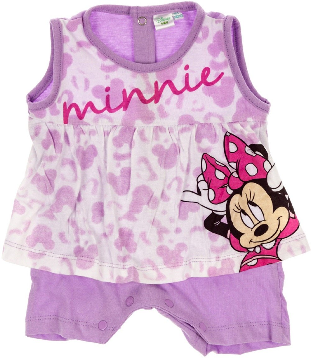 Disney βρεφικό φορμάκι «Purple Minnie»