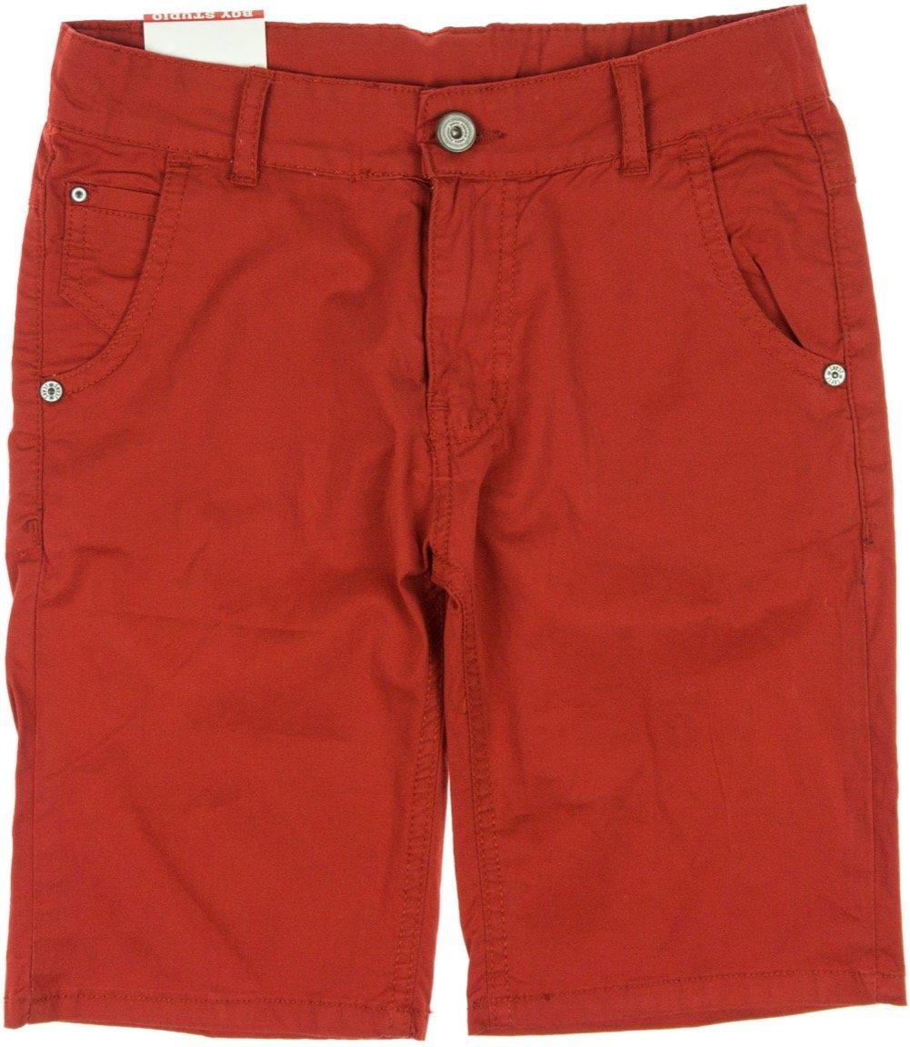 "Boy Studio παιδικό παντελόνι βερμούδα μακριά ""Summer Red"""