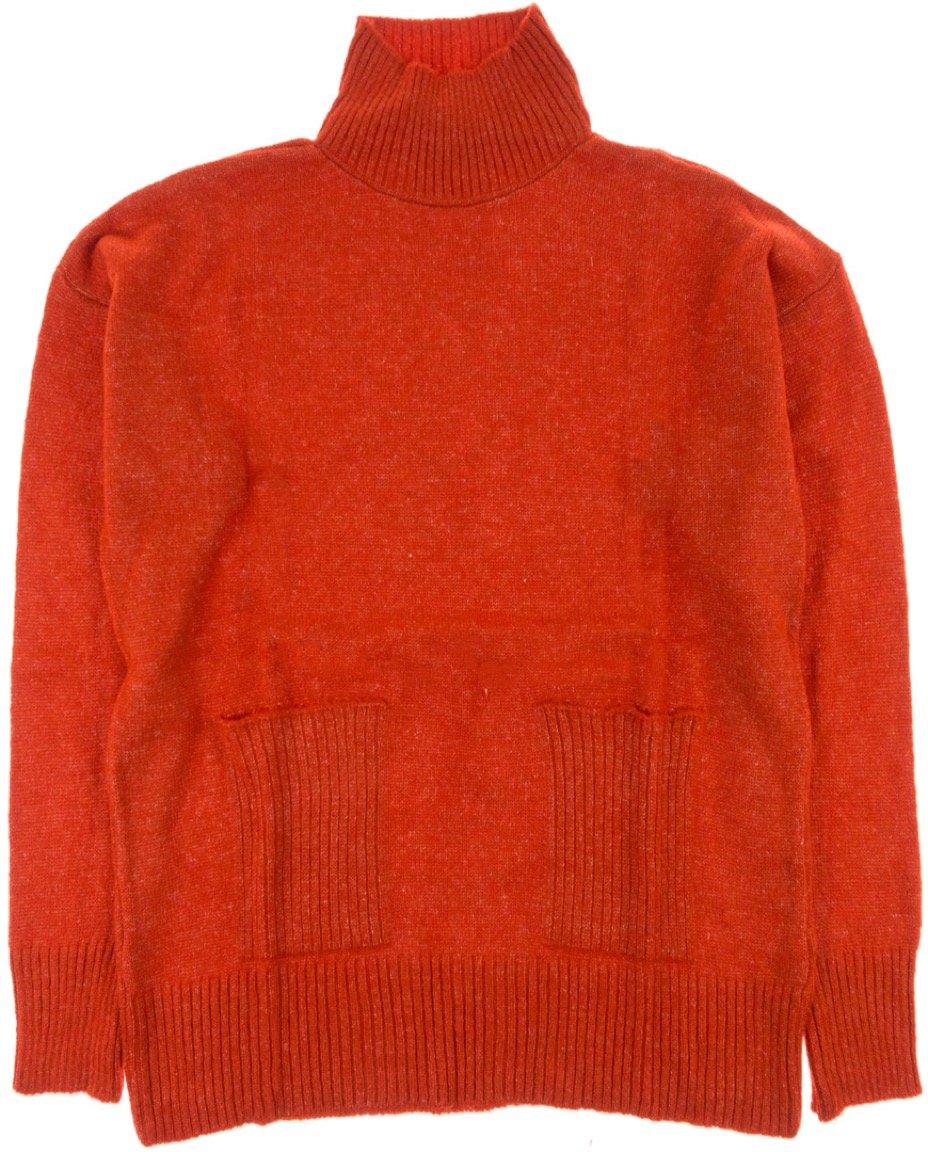 ΑΖ γυναικεία πλεκτή μπλούζα «Red Classic»