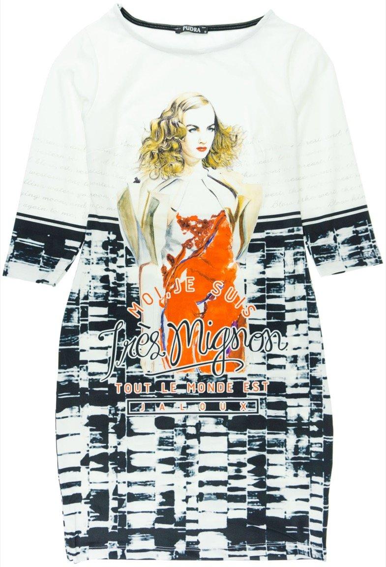 "Pudra γυναικείο εποχιακό φόρεμα ""Tres Mignon"""