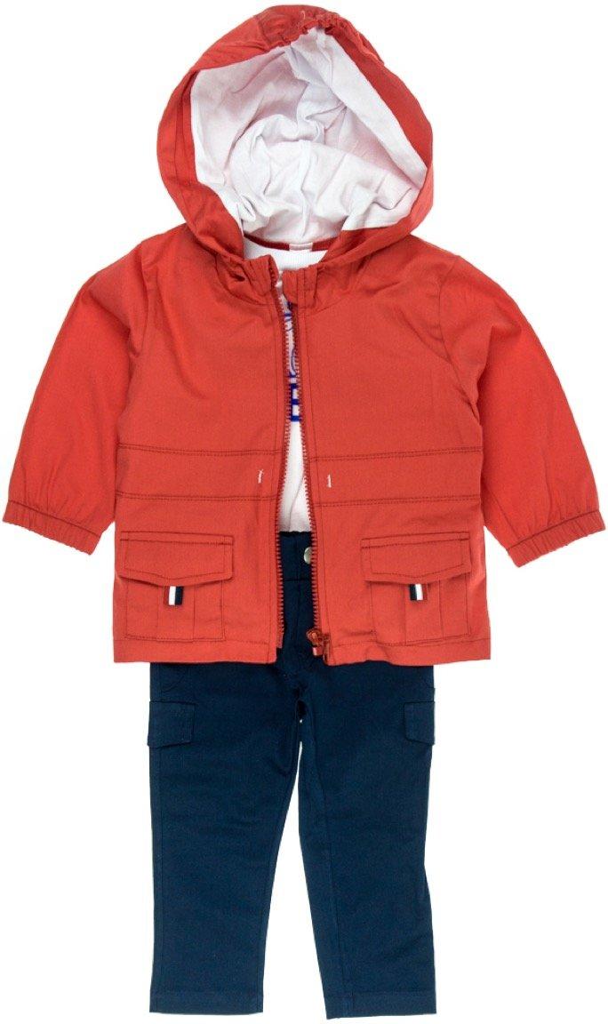 Joyce παιδικό σετ μπουφάν-γιλέκο-παντελόνι «Statewide»