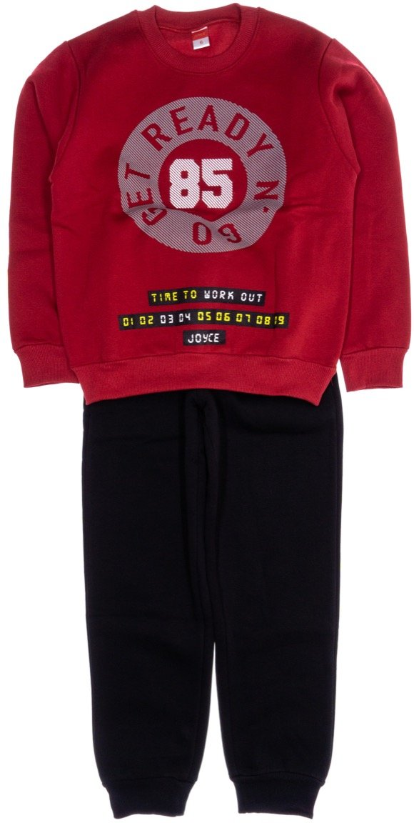 Joyce παιδικό σετ φόρμα μπλούζα-παντελόνι «Get Ready»