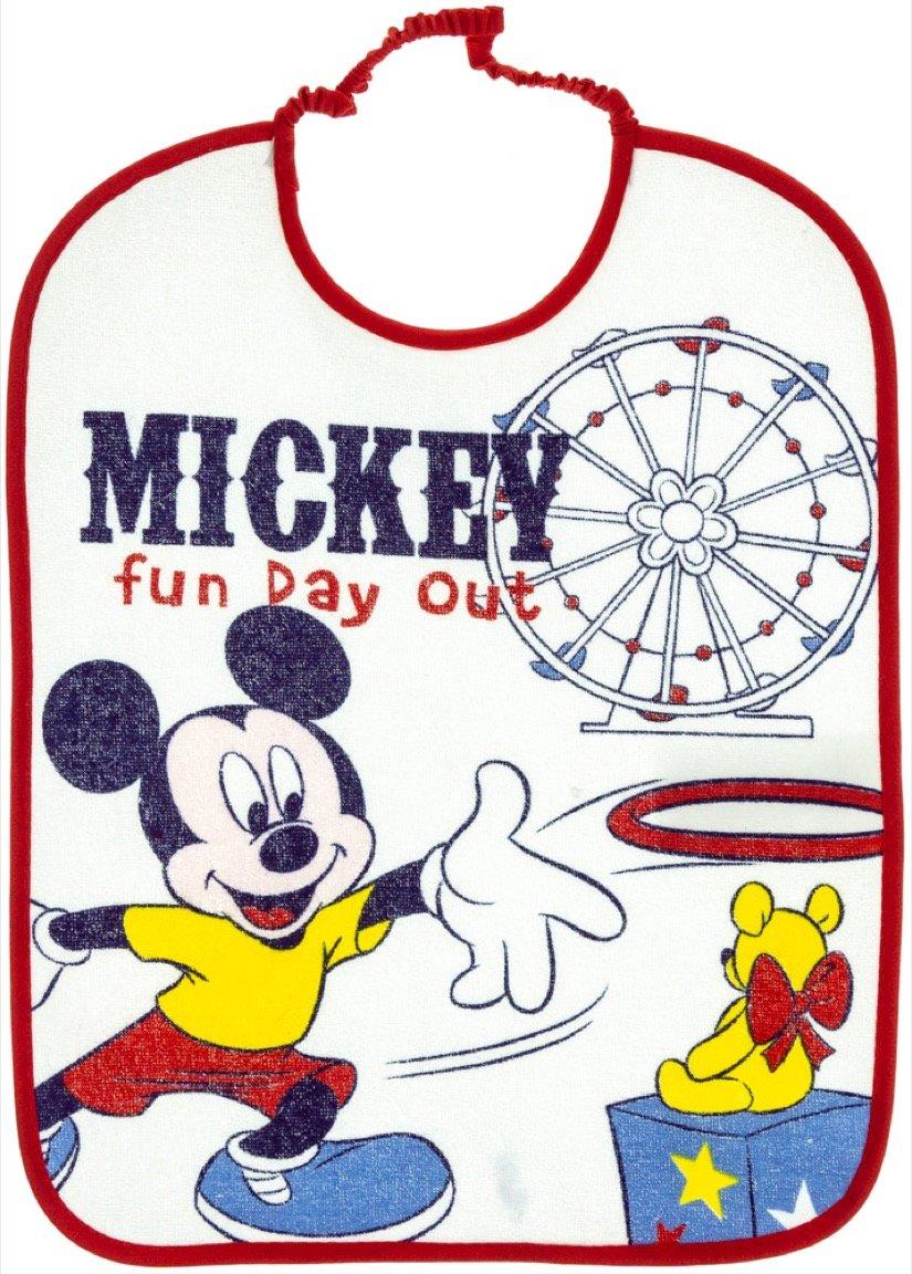 Disney βρεφική σαλιάρα φαγητού «Red Fun Day»