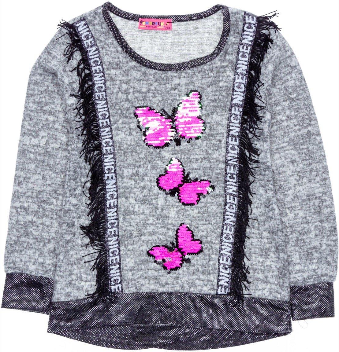 Tomurcuk παιδική μπλούζα «The Nice Butterflies»