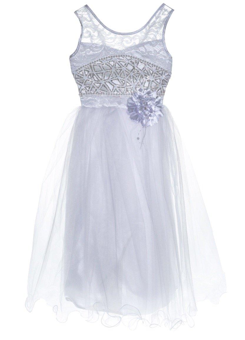 Ken Club παιδικό αμπιγιέ φόρεμα «Corgy White»